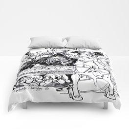 Dis Snow Whore & The Seven Grams (Snow White) Comforters