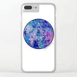 Zenetae Planet Metatron Clear iPhone Case