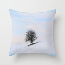 Simplicity in itself Throw Pillow
