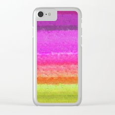 Abstract 2017 037 Clear iPhone Case