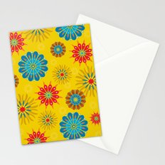Psycho Flower Gold Stationery Cards