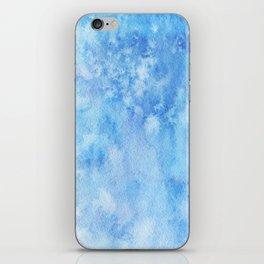 Blue Salt iPhone Skin