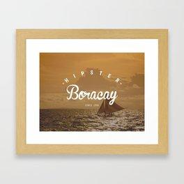Hipster Boracay Framed Art Print