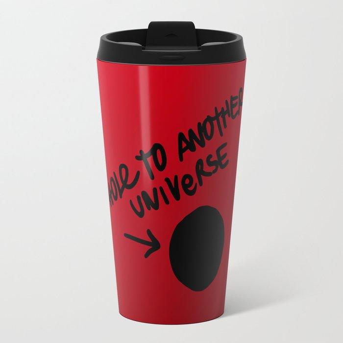 Hole To Another Universe Travel Mug