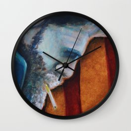 Cut From the American Dream Wall Clock