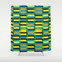 Cinetism and visual effect Shower Curtain