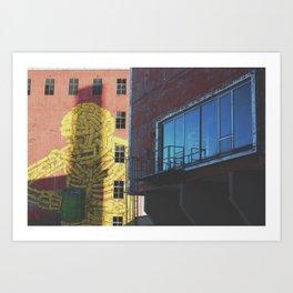 scene(ry) II Art Print