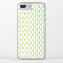 Blue on Winter 2018 Color: Son of a Sun Clear iPhone Case