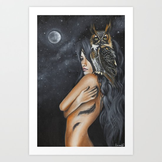 Willow Art Print