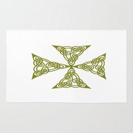 Lindisfarne St Johns Knot Grunge Rug