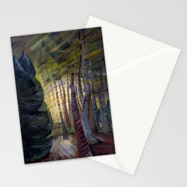 Emily Carr - Sombreness Twilight - Canada, Canadian Oil Painting - Group of Seven Stationery Cards