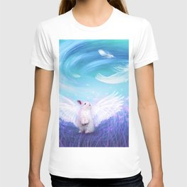 Under His Wings - Blue T-shirt