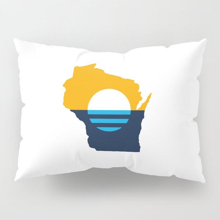 Wisconsin - People's Flag of Milwaukee Pillow Sham