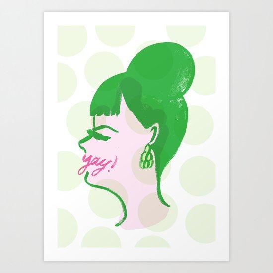 Socialite Art Print