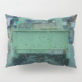 Rainy Days and Vintage Vehicles Pillow Sham