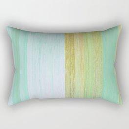 Pixel Sorting 110 Rectangular Pillow