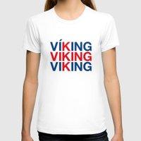 viking T-shirts featuring VIKING by eyesblau