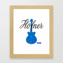Verithin Blue #1 Framed Art Print