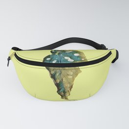 Plant's Leaf Life and Death Cycle of Life Fanny Pack