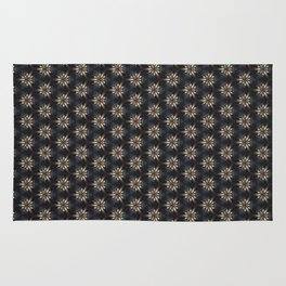Floral Texture Rug