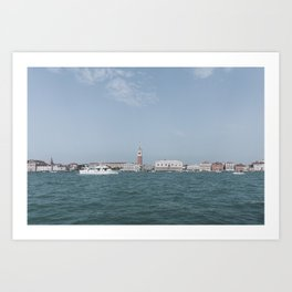 Venice in Soft Tones // Travel and Lifestyle Collection Art Print