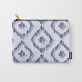 Ikat Blues I Carry-All Pouch