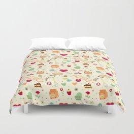Cake Pattern Duvet Cover