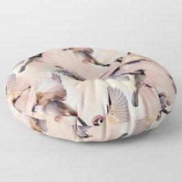 Sparrow Flight Floor Pillow