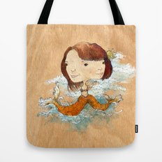 double you waves Tote Bag