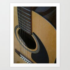 My Guitar Sound Art Print