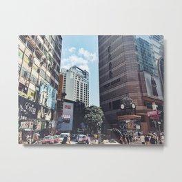 TIMESQUARE HONGKONG Metal Print