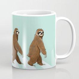 Sloth The Abbey Road in Green Coffee Mug