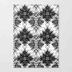 Knives Pattern Canvas Print