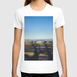Tree shadow on road T-shirt