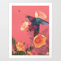 Pollinators II Art Print