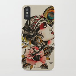 Gipsy girl - tattoo iPhone Case