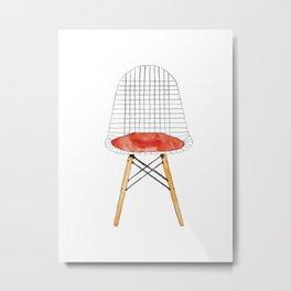 Eames Chair Metal Print