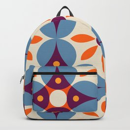 Cement tiles, gemoetric textures, patterns, southern Italy style Backpack