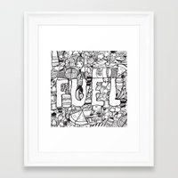 pocket fuel Framed Art Prints featuring Fuel by J.E.C. Scott