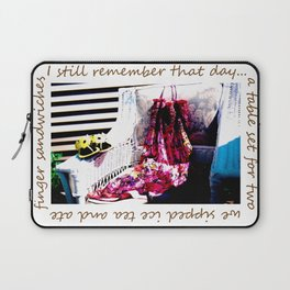 garden party Laptop Sleeve