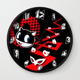 Clock of the Personas Wall Clock