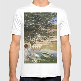 On the Bank of the Seine T-shirt