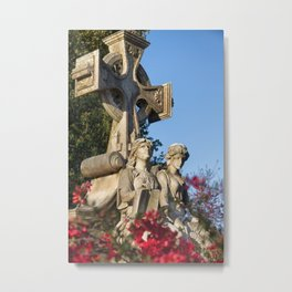 Neal Monument at Oakland Cemetery Metal Print
