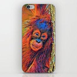 AnimalColor_OrangUtan_001_by_JAMColors iPhone Skin