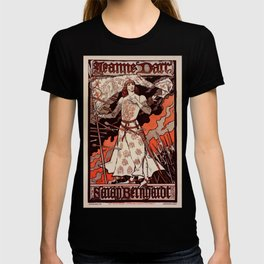 """Vintage French Poster for play """"Jeanne d'Arc"""" T-shirt"""