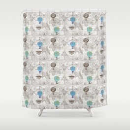 See the World Shower Curtain