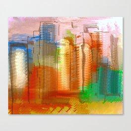 City with Attitude Canvas Print