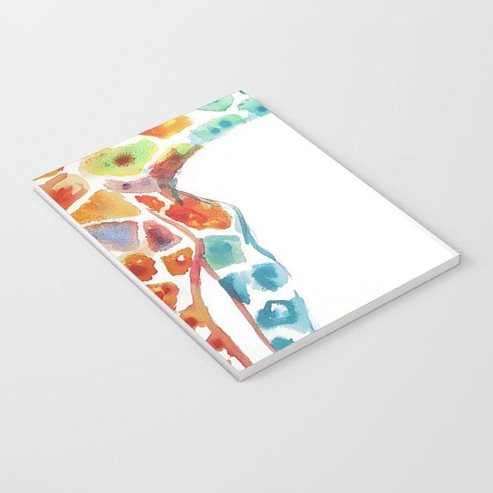 Mummy and Baby Giraffe College Dorm Decor Notebook