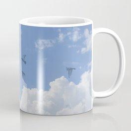 Window Curtains - Flying Away Coffee Mug