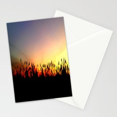 Sunset Reeds Stationery Cards